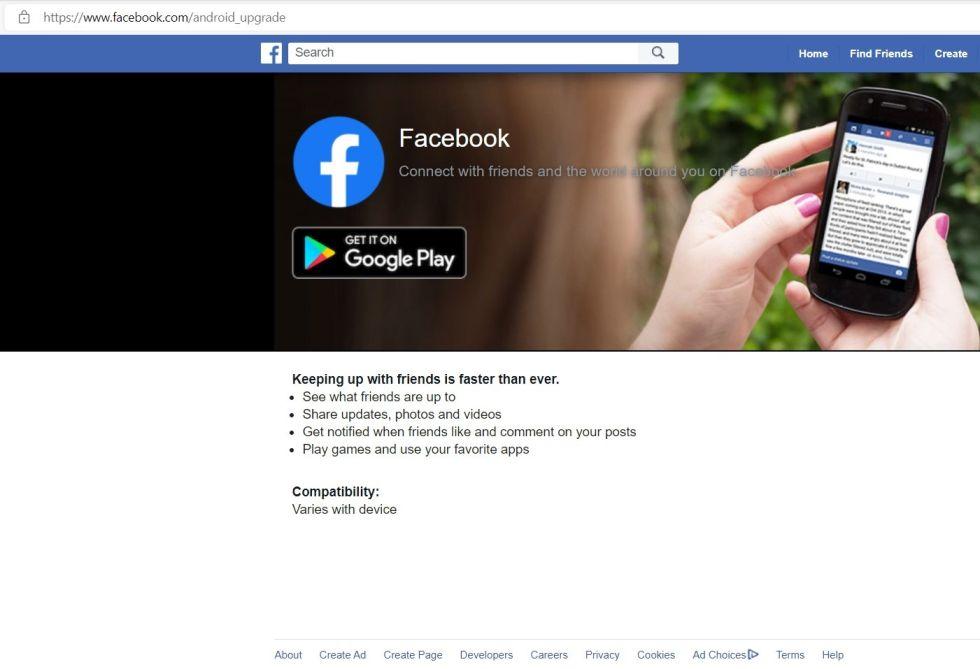 facebook install